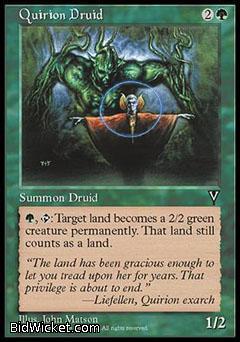 Quirion Druid, Visions, Magic the Gathering