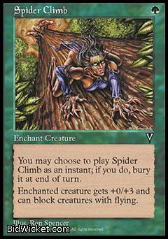 Spider Climb, Visions, Magic the Gathering