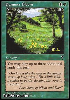 Summer Bloom, Visions, Magic the Gathering