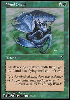 Wind Shear, Visions, Magic the Gathering