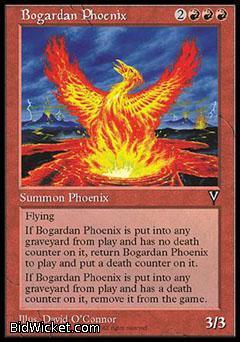Bogardan Phoenix, Visions, Magic the Gathering
