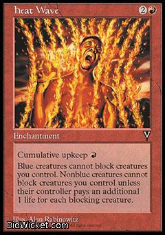 Heat Wave, Visions, Magic the Gathering