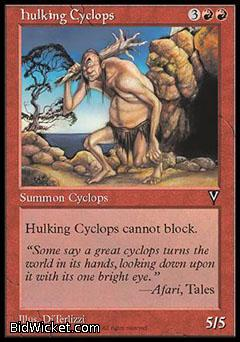 Hulking Cyclops, Visions, Magic the Gathering
