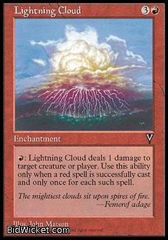 Lightning Cloud, Visions, Magic the Gathering