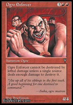 Ogre Enforcer, Visions, Magic the Gathering
