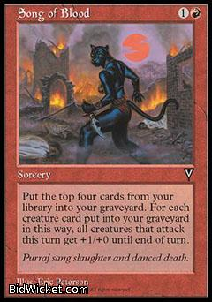 Song of Blood, Visions, Magic the Gathering