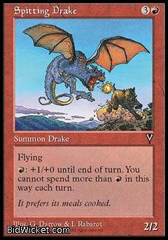 Spitting Drake, Visions, Magic the Gathering