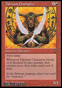 Talruum Champion, Visions, Magic the Gathering