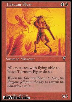 Talruum Piper, Visions, Magic the Gathering