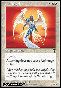 Archangel, Visions, Magic the Gathering