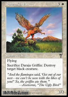 Daraja Griffin, Visions, Magic the Gathering