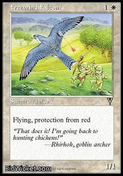 Freewind Falcon, Visions, Magic the Gathering