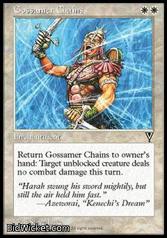 Gossamer Chains, Visions, Magic the Gathering