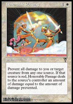 Honorable Passage, Visions, Magic the Gathering