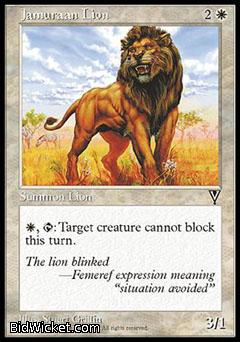 Jamuraan Lion, Visions, Magic the Gathering