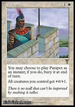 Parapet, Visions, Magic the Gathering