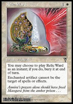 Relic Ward, Visions, Magic the Gathering