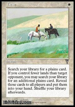 Tithe, Visions, Magic the Gathering