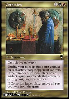 Corrosion, Visions, Magic the Gathering