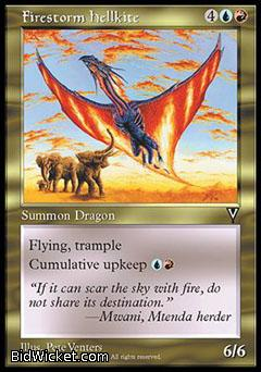 Firestorm Hellkite, Visions, Magic the Gathering