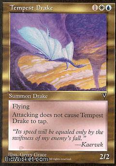 Tempest Drake, Visions, Magic the Gathering