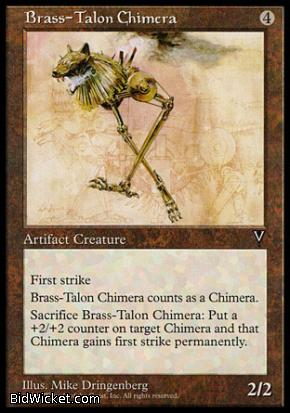 Brass-Talon Chimera, Visions, Magic the Gathering