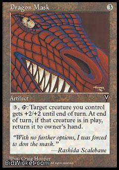Dragon Mask, Visions, Magic the Gathering