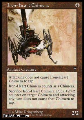 Iron-Heart Chimera, Visions, Magic the Gathering