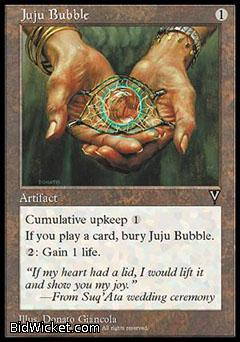 Juju Bubble, Visions, Magic the Gathering