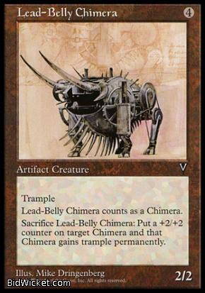 Lead-Belly Chimera, Visions, Magic the Gathering