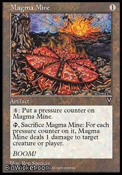 Magma Mine, Visions, Magic the Gathering