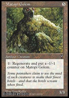 Matopi Golem, Visions, Magic the Gathering