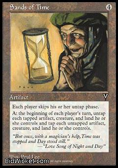 Sands of Time, Visions, Magic the Gathering