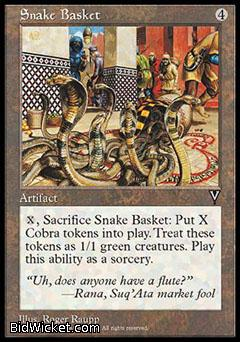 Snake Basket, Visions, Magic the Gathering