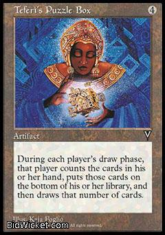 Teferi's Puzzle Box, Visions, Magic the Gathering