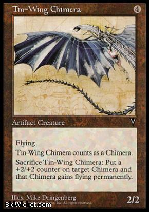 Tin-Wing Chimera, Visions, Magic the Gathering