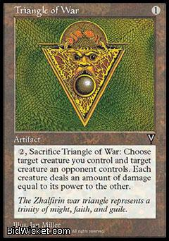 Triangle of War, Visions, Magic the Gathering