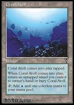 Coral Atoll, Visions, Magic the Gathering