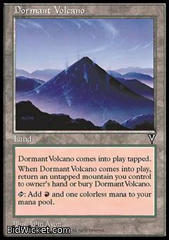 Dormant Volcano, Visions, Magic the Gathering