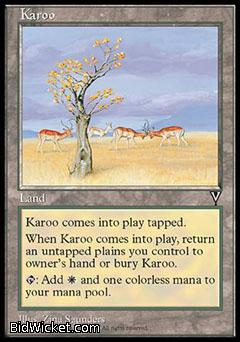 Karoo, Visions, Magic the Gathering