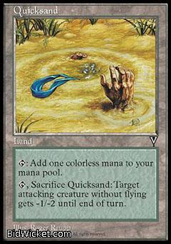 Quicksand, Visions, Magic the Gathering