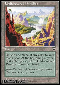 Undiscovered Paradise, Visions, Magic the Gathering
