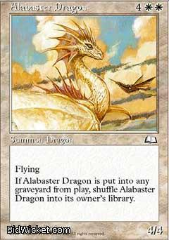 Alabaster Dragon, Weatherlight, Magic the Gathering