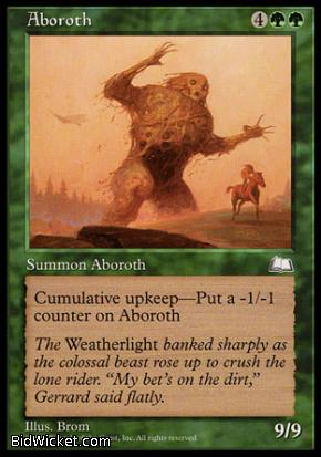 Aboroth, Weatherlight, Magic the Gathering