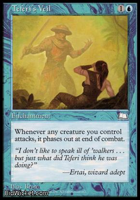 Teferi's Veil, Weatherlight, Magic the Gathering