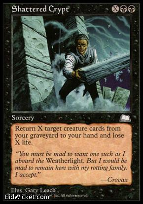 Shattered Crypt, Weatherlight, Magic the Gathering