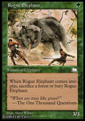 Rogue Elephant, Weatherlight, Magic the Gathering