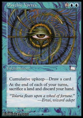 Psychic Vortex, Weatherlight, Magic the Gathering