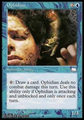 Ophidian, Weatherlight, Magic the Gathering