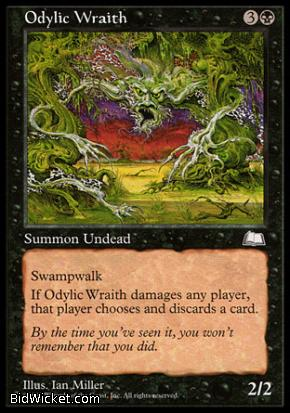 Odylic Wraith, Weatherlight, Magic the Gathering
